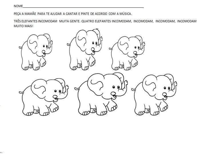 musica um elefante incomoda muita gente