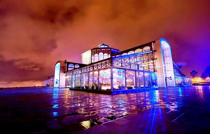 Centro Cultural Itchimbía - Palácio de Cristal em Quito no Equador