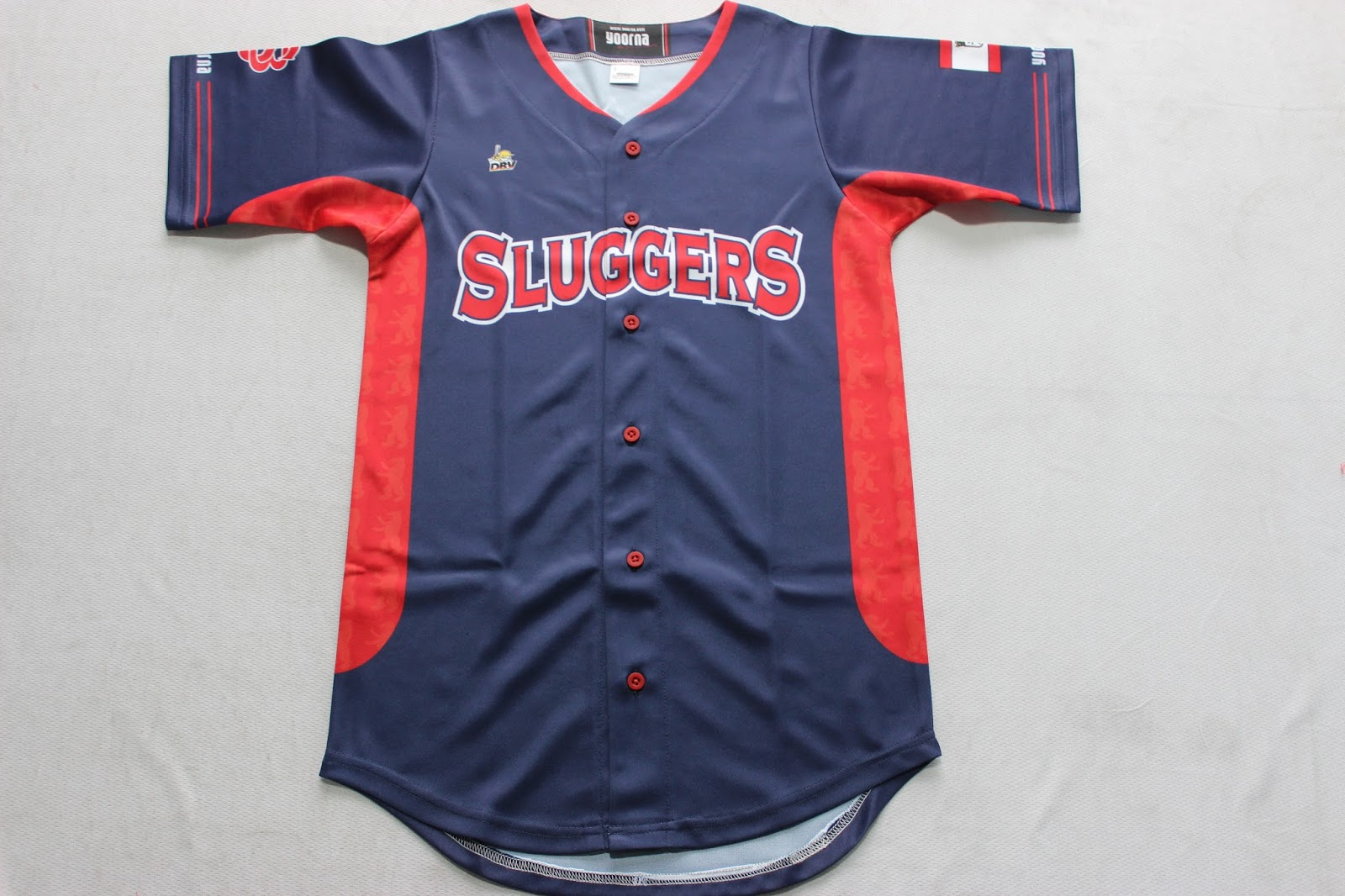 a40f4126e custom sublimated baseball shirts with your logos and designs