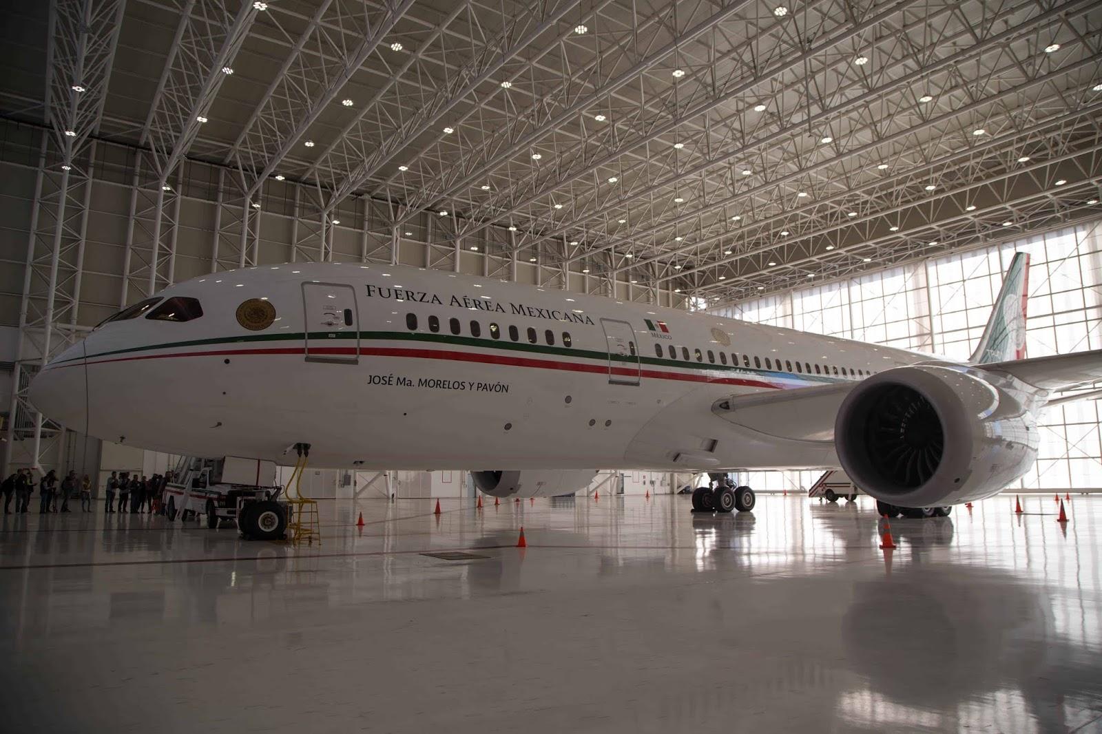FOTOS: Así es el avión presidencial por dentro