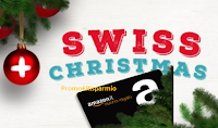 Logo Con Helvetia vinci gratis buoni Amazon da 50 euro