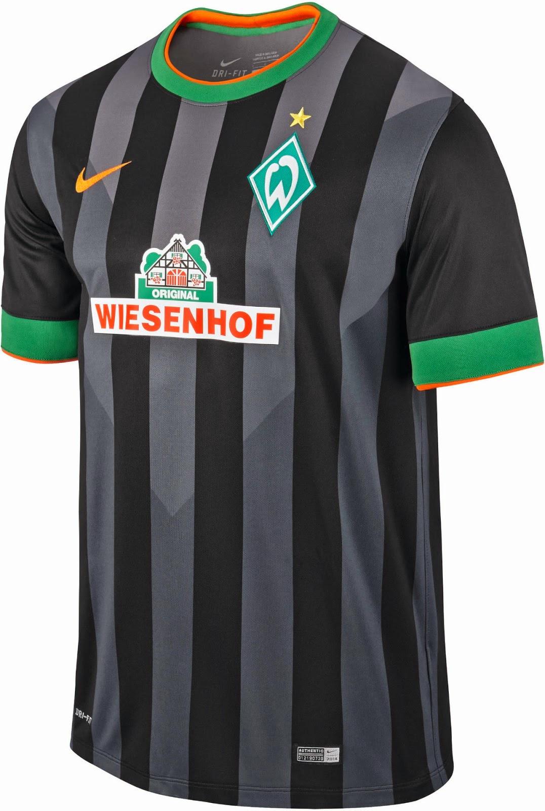 4cbe59c21f Werder Bremen apresenta as suas novas camisas 2 e 3 - Alemanha ...