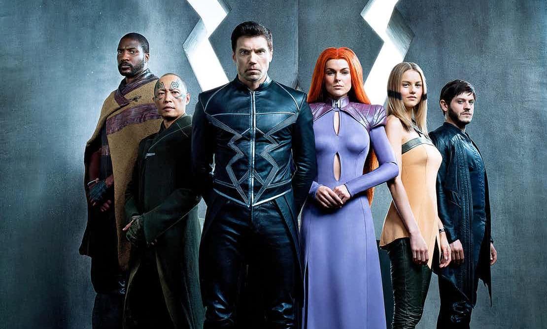 El elenco de Inhumans, la nueva serie de Marvel.