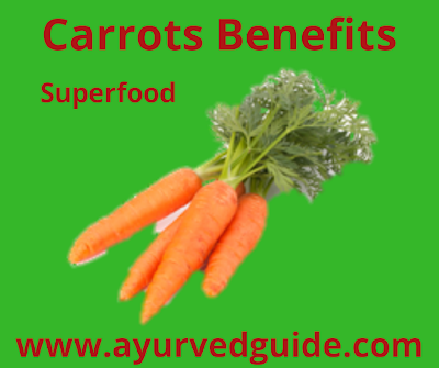 Carrots Nutritional Benefits