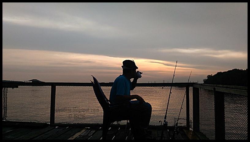 Sunset Teluk Gong Klang