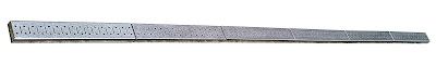 Galvanized Steel Peg Board Rail