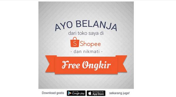 Cara Mudah Mendapatkan Gratis Ongkir Untuk Pembeli Saat Belanja di Shopee