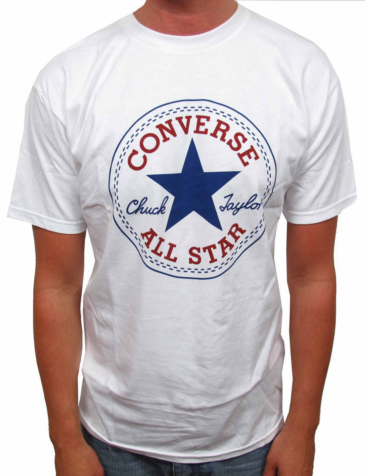 185e2fc60d76 Grey Converse T Shirt Mens