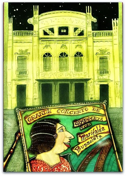 """Grande Concerto de Gamboceta"", obra de Fernando Duval"