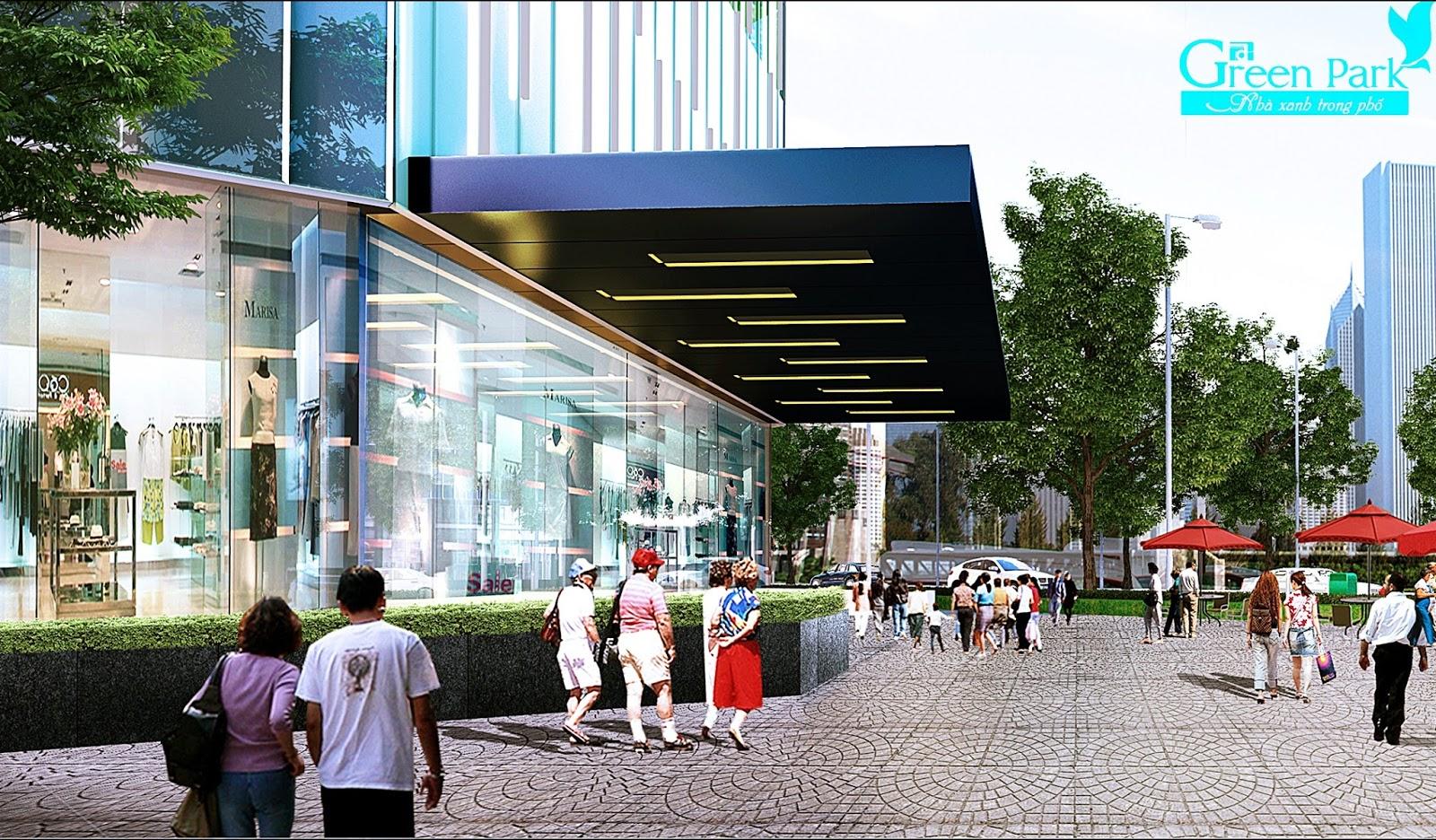 Không gian xung quanh dự án Phương Đông Green Park