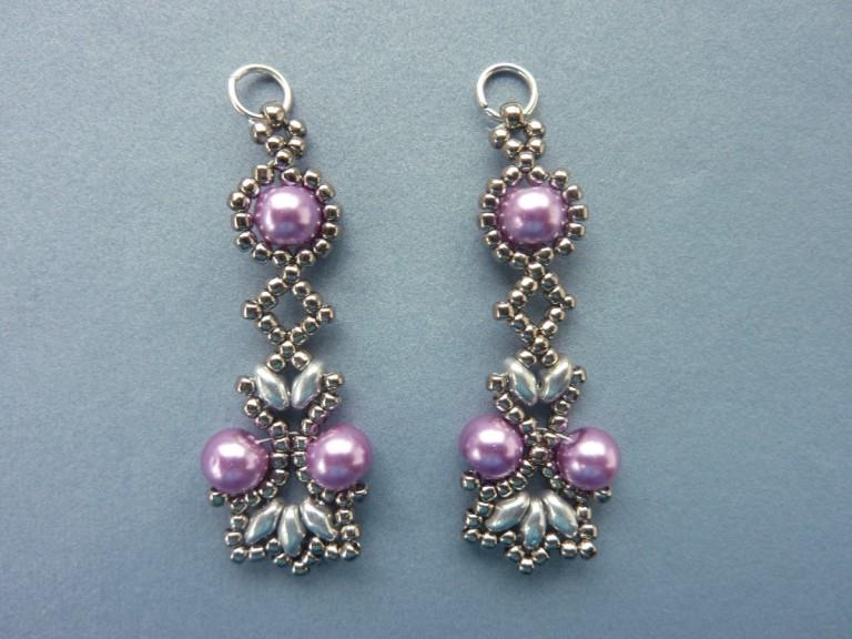 Elegant Superduo Bracelet And Earrings Tutorials Rocks In