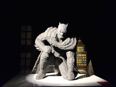 Batman in brick form