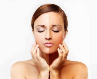tips memutihkan wajah