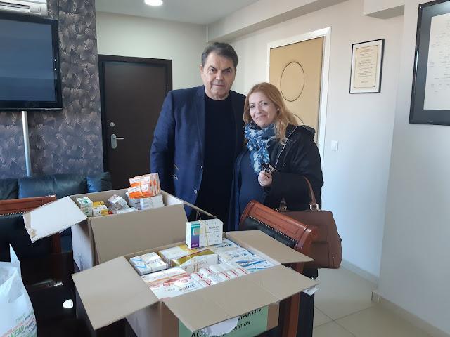 Σπουδαία προσφορά φαρμάκων στο Κοινωνικό Φαρμακείο του Δήμου Άργους Μυκηνών