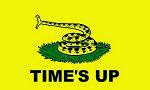 Time's Up Flag