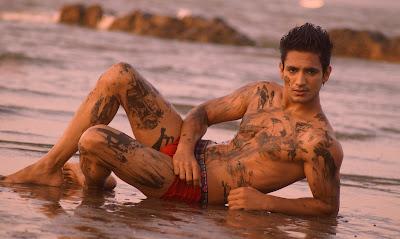 Hot Indian Hunk Model Arya Brar