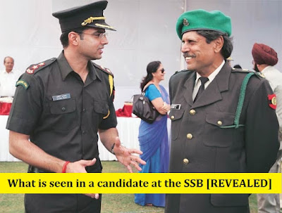 What is seen in a candidate at the SSB [REVEALED] - Clear SSB
