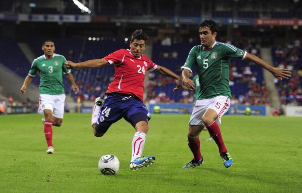México y Chile en partido amistoso, 4 de septiembre de 2011