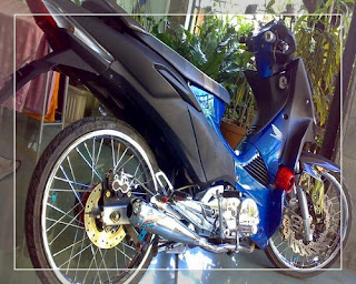 modifikasi supra x 125 cross modifikasi supra x 125 ceper