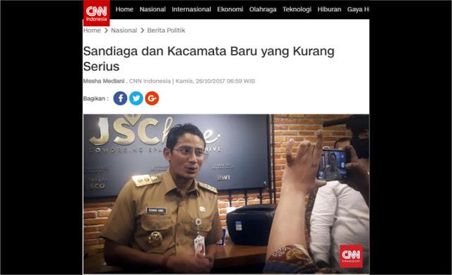 Ketika Jaringan Media CNN Menjatuhkan Martabat Dirinya Sendiri dengan Berita Kacamata Sandi