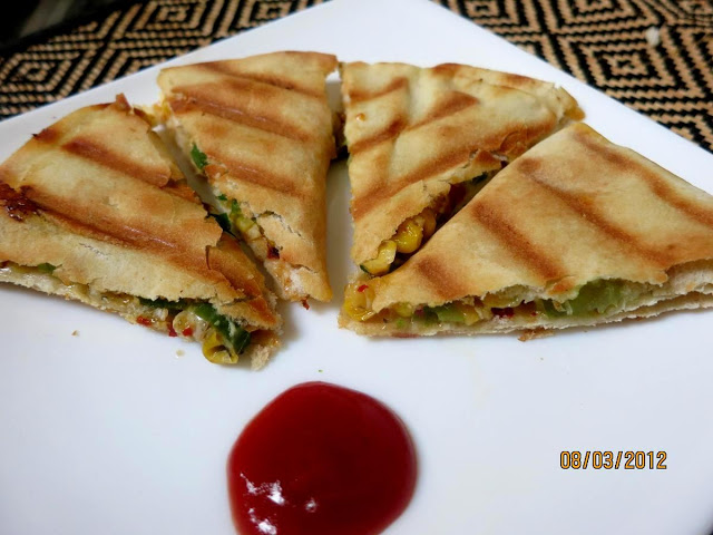 Pita bread or khubz is flatbread made with all purpose flour or with wheat flour GRILLED CHEESY PITA POCKETS RECIPE
