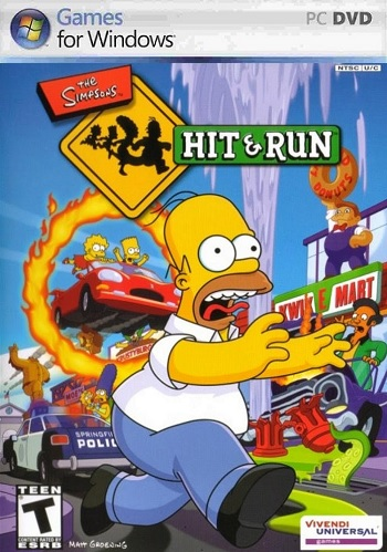 the simpsons hit and run hd