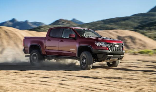 Chevrolet Colorado ZR2 обзор дизельных и бензиновых двигателей