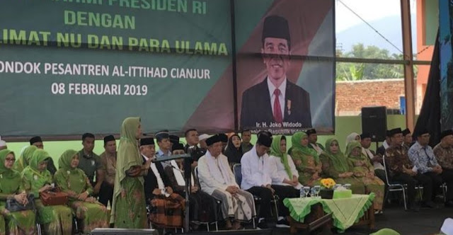 Soal Tuduhan Kriminalisasi Ulama, Jokowi: Tolong Sebut Nama Ulamanya