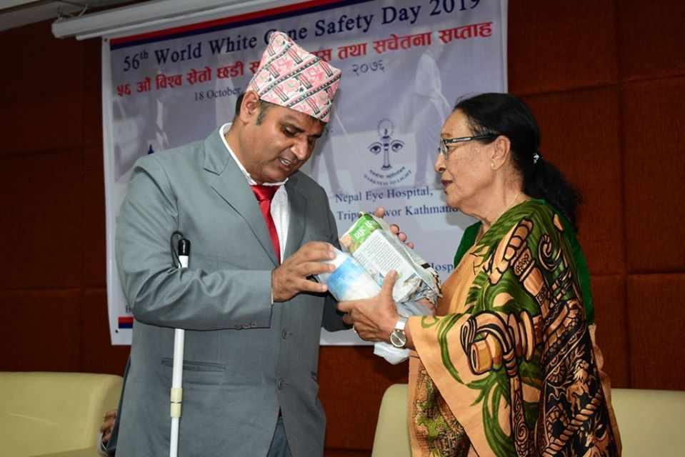 56th World White Cane Safety Day 2019 Celebration at NEH in association with Bright Star Society