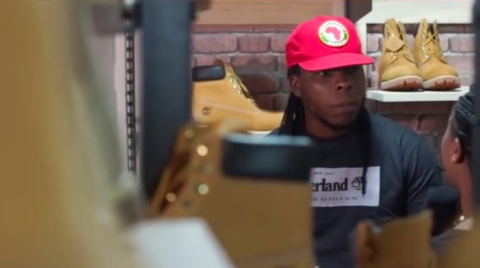 Video: Edem opens outlet for Timberland in Tema