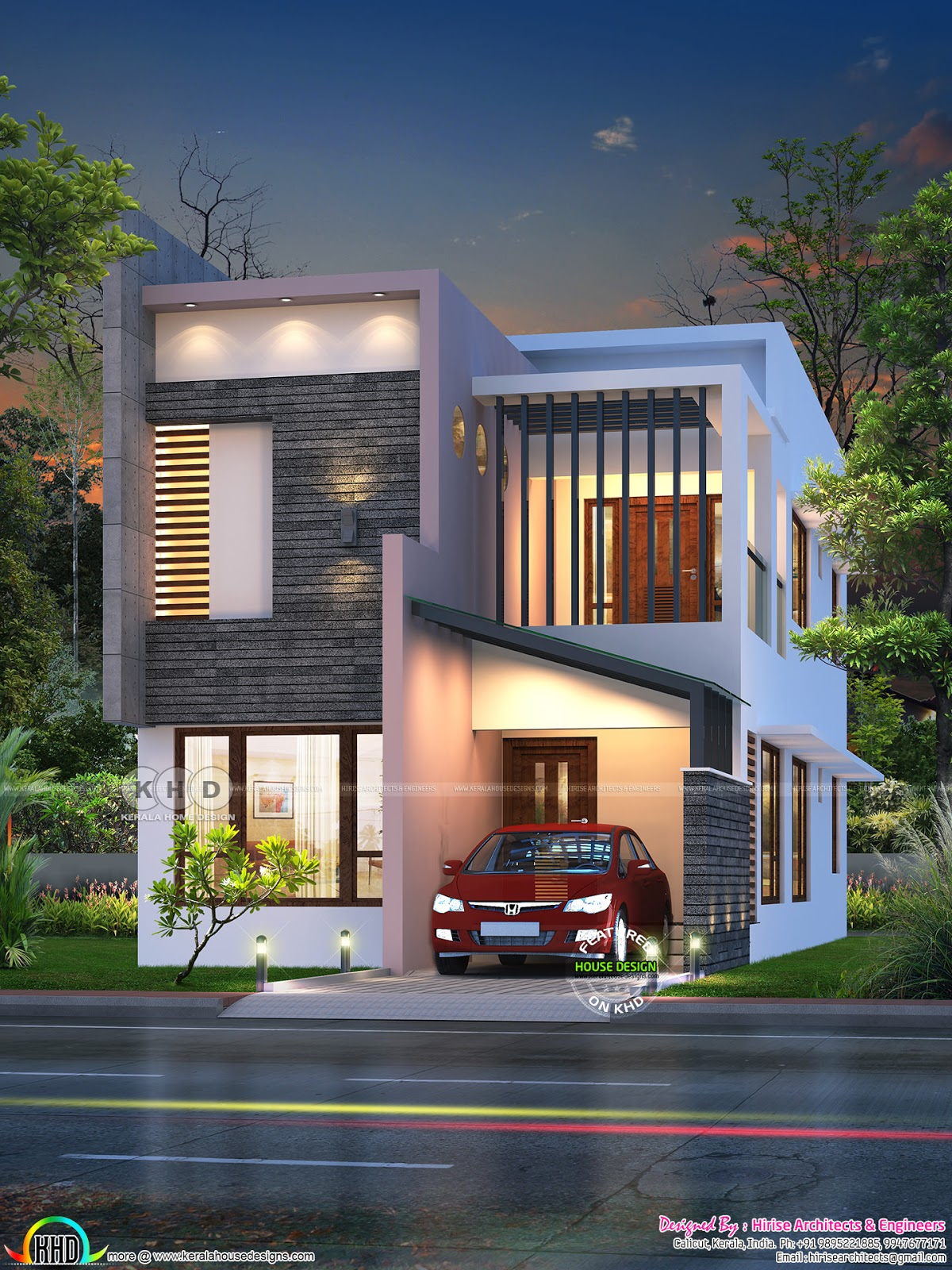 modern house march22 2018 - 34+ Contemporary Small House Design In Kerala  Pics
