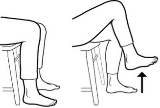 Total Knee replacement home exercise ~ akufisio.blogspot