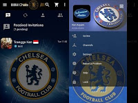 Download BBM MOD Tema Sepakbola V3.2.5.12 Apk Terbaru
