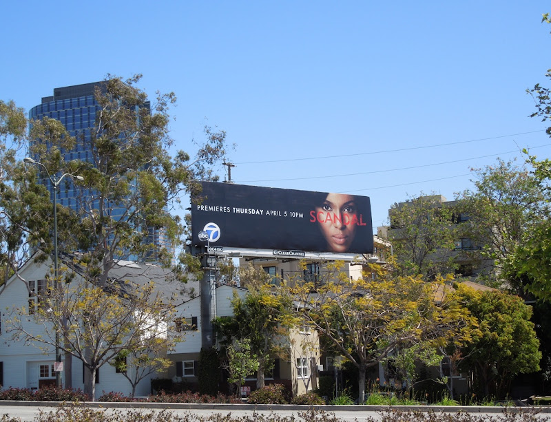 Scandal ABC billboard