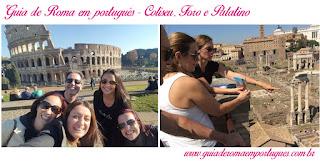 Coliseu FOro Palatino GUia portugues - Museus Vaticanos antes da abertura ao público