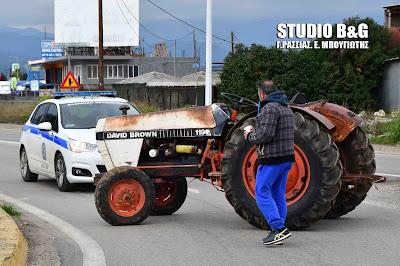 Αποχώρησαν από το μπλόκο Ινάχου οι Αγρότες της Αργολίδας