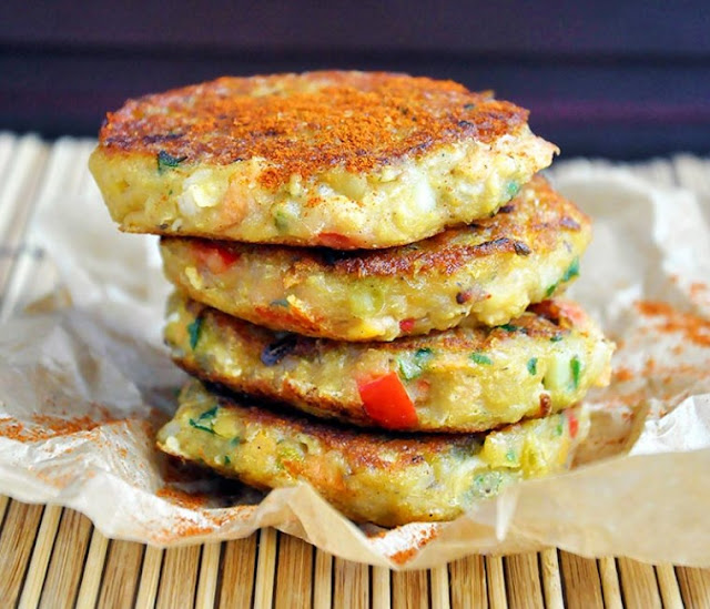 Spicy Vegan Lentil Cakes #fingerfood #vegetarian