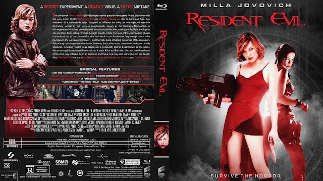 Resident Evil Bluray Cover