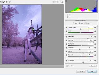 Cara Mengedit di Photoshop Foto Infrared Manusia
