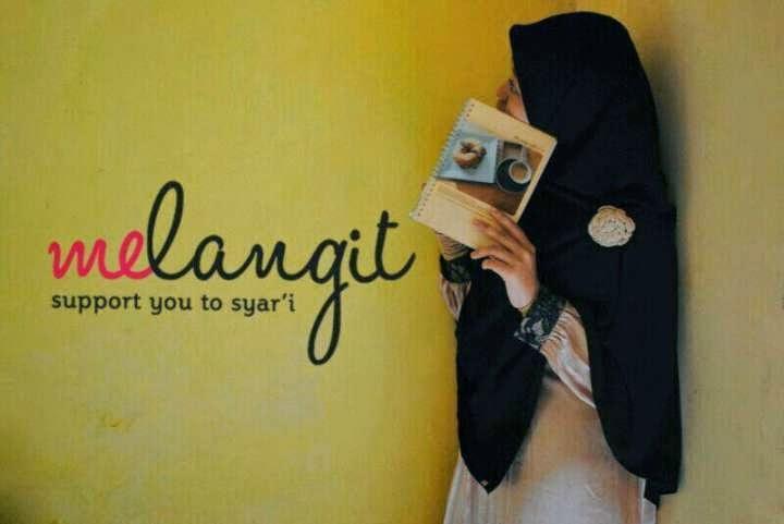 melangit hijab syari