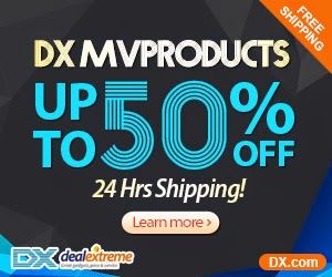 Up to 50% OFF + Ships in 24 Hrs ( dx.com )