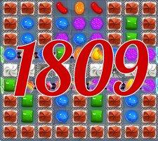 Candy Crush Saga Level 1809