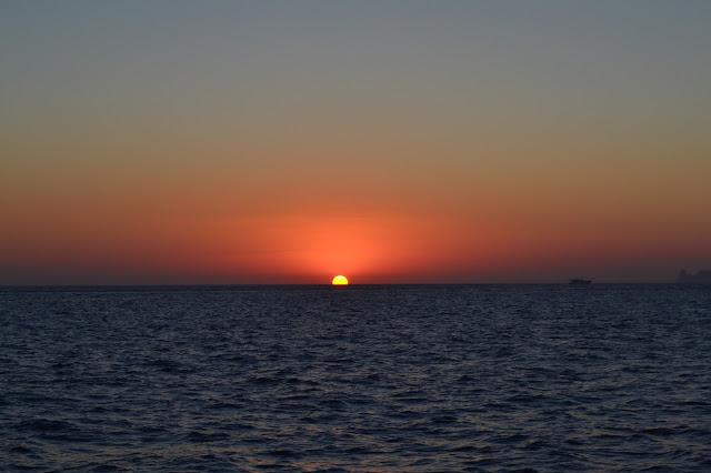 Famous Ibiza sunset