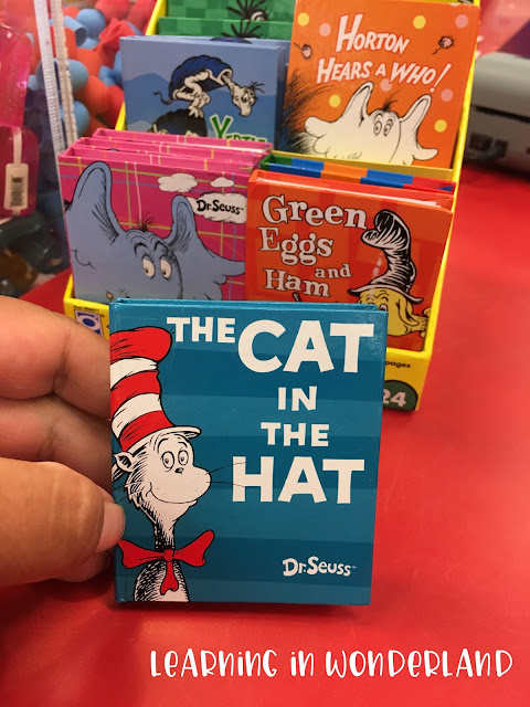 These little notebooks are perfect for Read Across America!