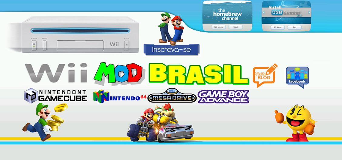 Wii Mod Brasil