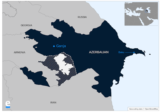 Bakú asegura que eliminó a terroristas en Ganja