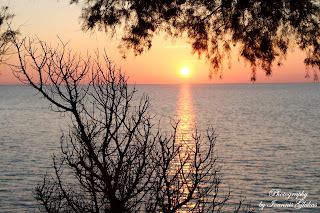 Sunset Aghios Ioannis Mastichari