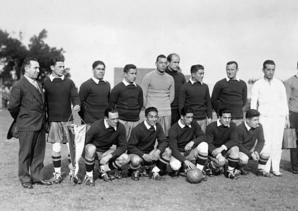 Formación de Chile ante México, Copa del Mundo Uruguay 1930, 16 de julio
