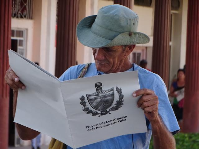 En Jobabo ya se lee el Proyecto de Constitución (+FOTOS)