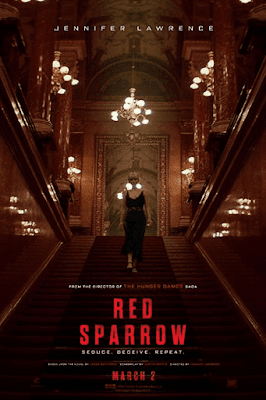Red Sparrow 2018 Dual Audio Hindi 720p HEVC BluRay 700MB